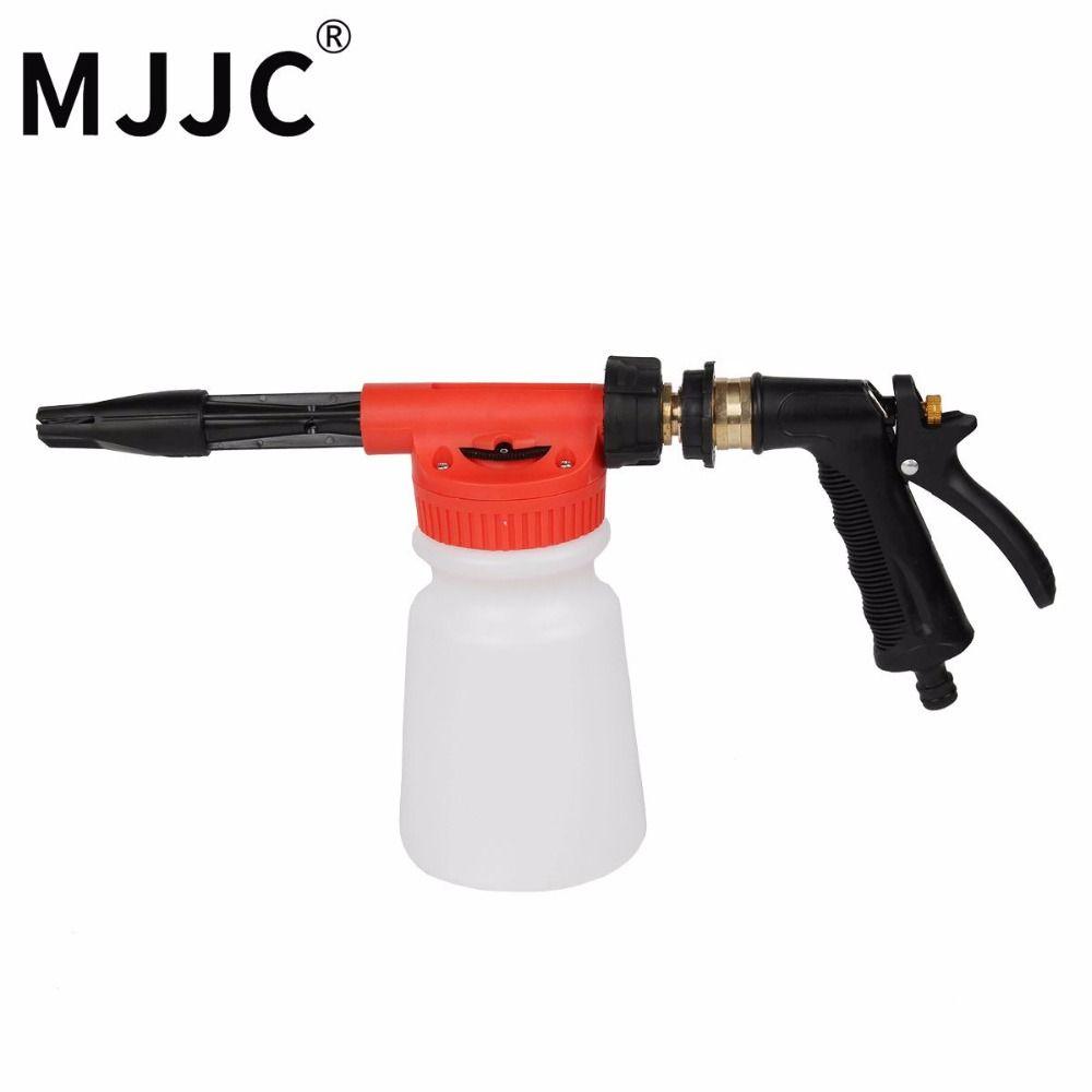 MJJC Brand with High Quality Garden Water Hose Foamer Gun, garden hose foam lance for car pre washing