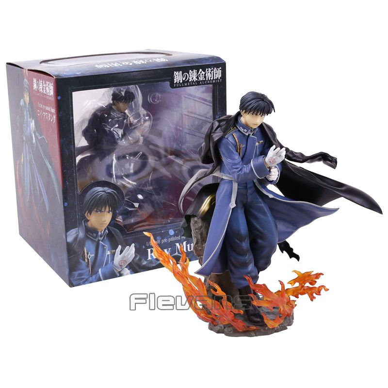 Anime Fullmetal Alchemist Roy Mustang 1/8 Scale Pre-Painted Figure Collectible Model Toy 21cm