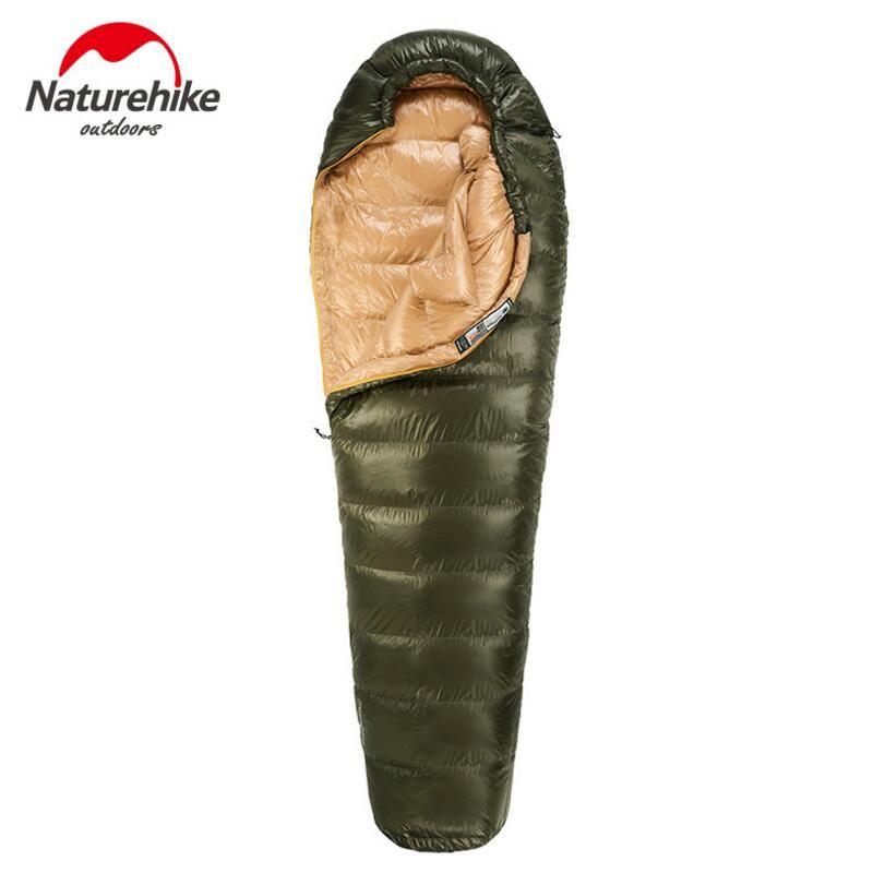 Naturehike Travel Outdoor Camping Sleeping Bag Winter 400G 800G 1000G Ultralight Duck down Sleeping Bag Adult NH15D800-K