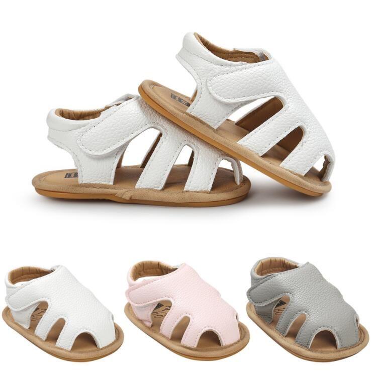 2018 nuevos diseños recortes Vaqueros Venta caliente pu cuero bebé mocasines niño verano niñas Niños sandalias sneakers infantil zapatos 0-18 m
