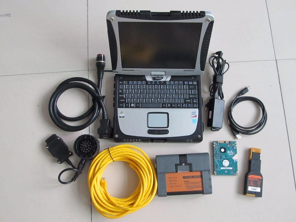 Für bmw icom isis isid icom a2 + für pc tough buch CF-19 + 500 gb hdd v2018.05 (istad 4,10 p3.64) expertenmodus laptop vollen satz
