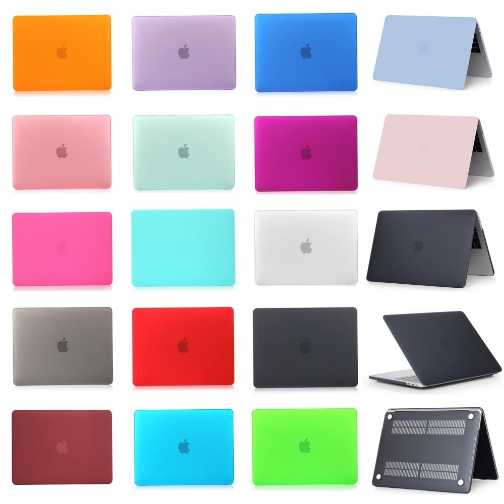 For Apple Macbook Air Pro Retina 11 12 13 15 inch with Touch Bar Frosted Surface Matte Hard <font><b>Cover</b></font> Case