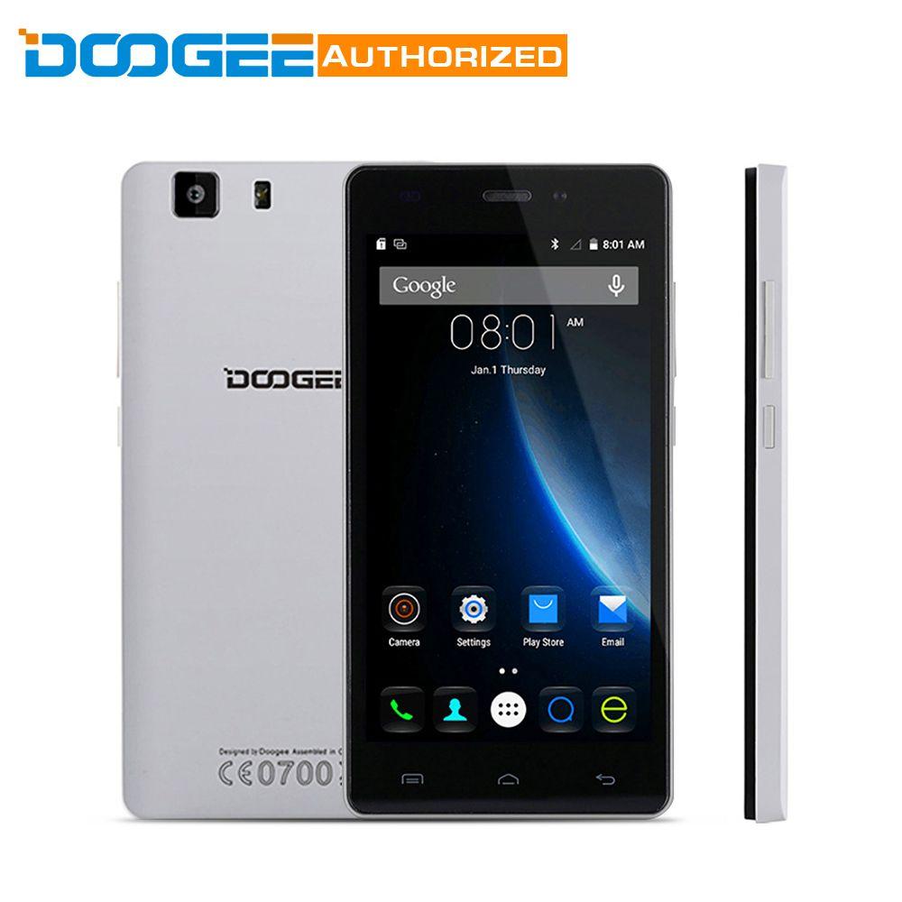 DOOGEE X5 Pro Android 5.1 4G Smartphone 5.0 inch IPS Screen MTK6735 64bit Quad Core 2GB RAM 16GB ROM Dual Cameras Cellphone