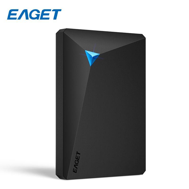 EAGET Externe Festplatte 1 TB HDD 2,5