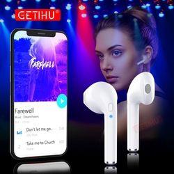 GETIHU Bluetooth Écouteurs Sport Téléphone Casque mini-Écouteurs Sans Fil Casque Mini Écouteurs Écouteur Pour iPhone Samsung stéréo
