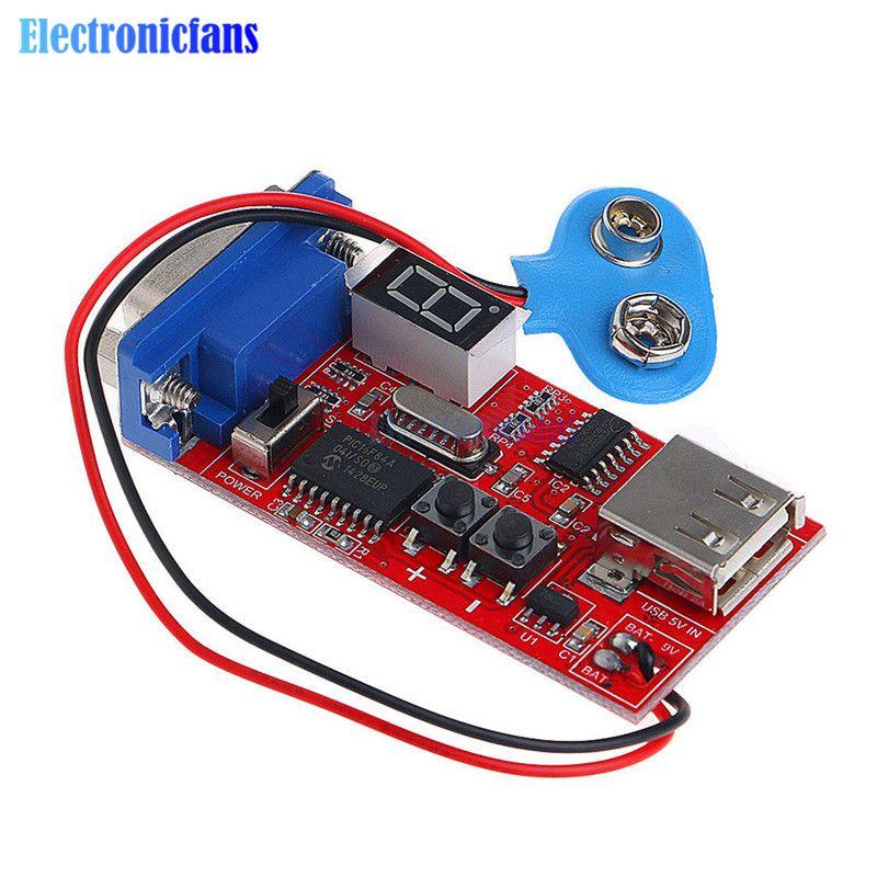 VGA Signalgenerator LCD Tester 15 Signalausgang USB Batterie Dual-netzteil