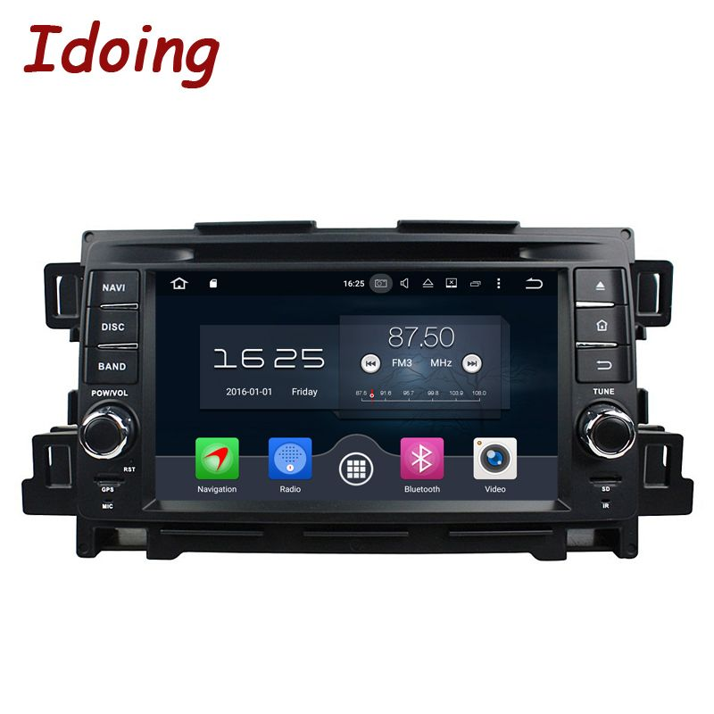 Idoing 2Din Steering Wheel Android8.0/7.1 Fit Mazda CX 5 Car DVD Player 8Core 4G+32G GPS Navigation Touch Screen Video WiFi OBD2
