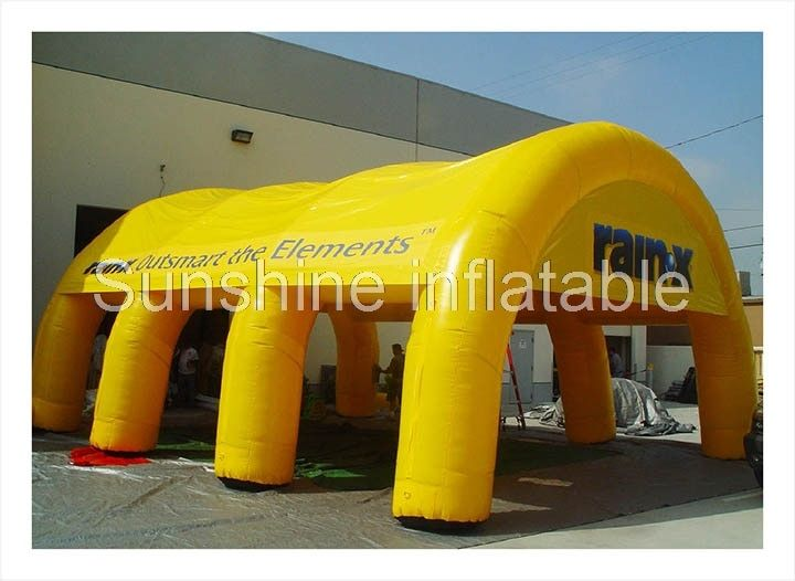 Custom logo printed giant inflatable dome tent arch tent sport tent party tent large marquee for outdoor advertising