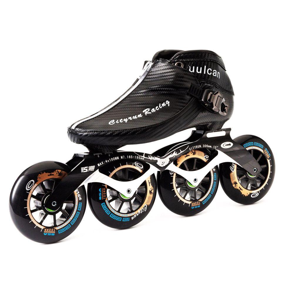 Japy 2019 Cityrun patins à roues alignées en Fiber de carbone patins de compétition professionnels Patines de course similaires Powerslide Zip