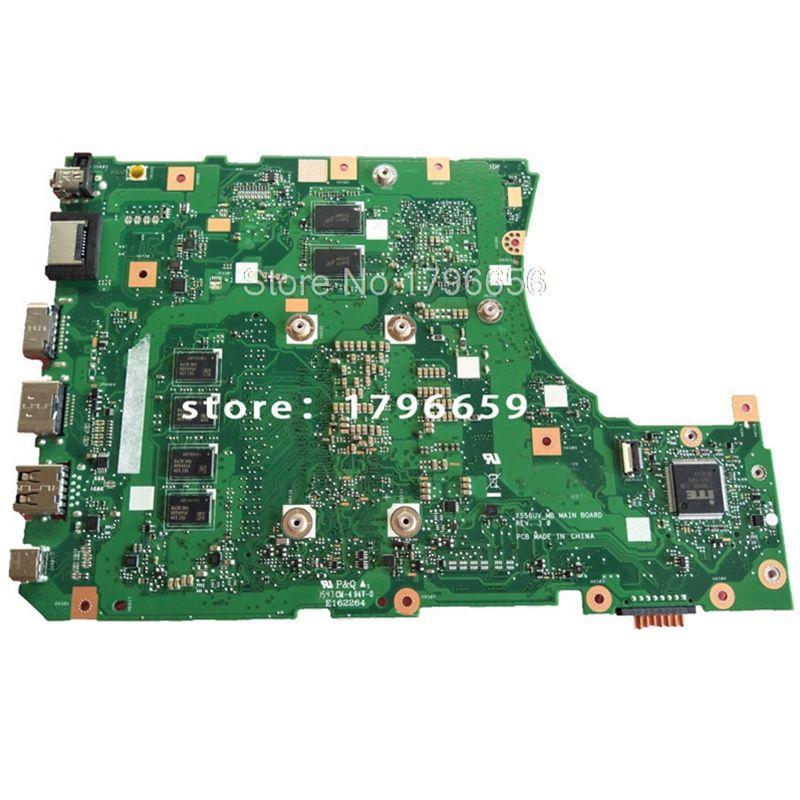 X556UJ REV:2.0 i7-6500U 8GB GT920M DDR3 For X556U X556UV ASUS X556UV X556UB X556UR X556UF X556UJ Motherboard laptop Mainboard