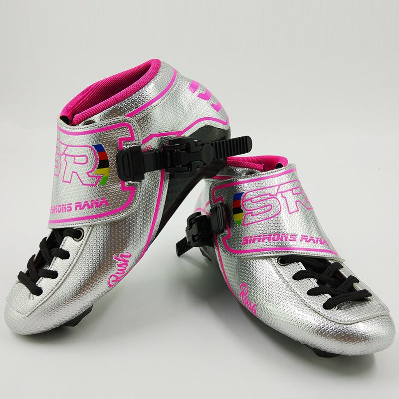 Professional Speed Skate SR Skates Women Men Adults Roller Skating Kids Inline Skate Shoes Carbon New Arrival Boots Pink Blue