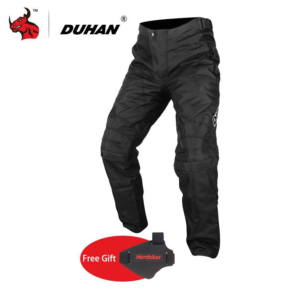 DUHAN Men Pantalon Moto Oxford Cloth Motorcycle Enduro Racing Pantalon Trousers Motorcycle Pants Motorcycle Trousers Moto Pants