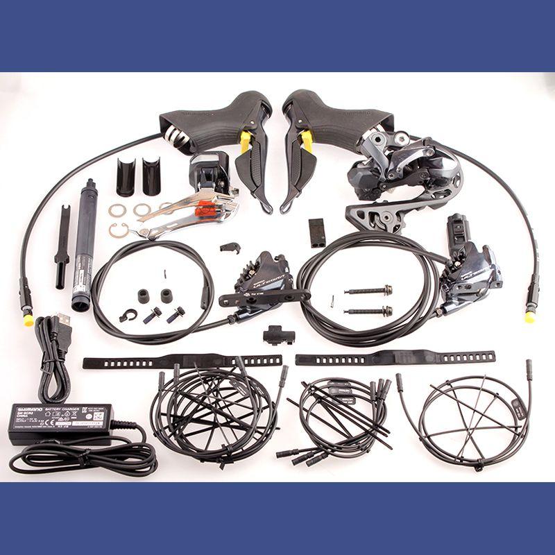 Shimano ULTEGRA 2x11 Geschwindigkeit R8070 Di2 Hydraulische Scheiben Bremse Elektrische Straße Fahrrad Groupset Shifter Schaltwerk Kit