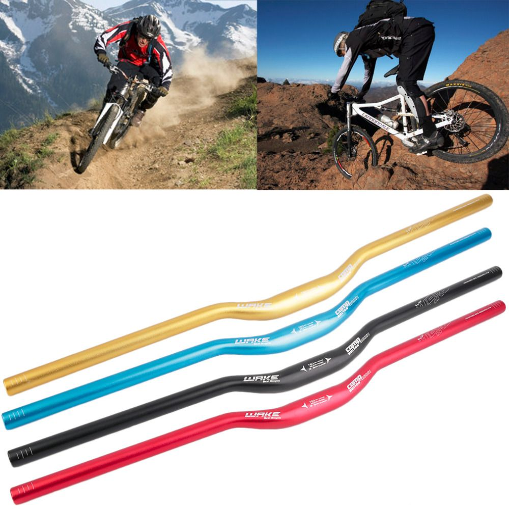 31.8 x 780 mm MTB Mountain Bike Bicycle Riser Handlebar Aluminum Alloy Handlebars Replacement Handle Tubes free shipping