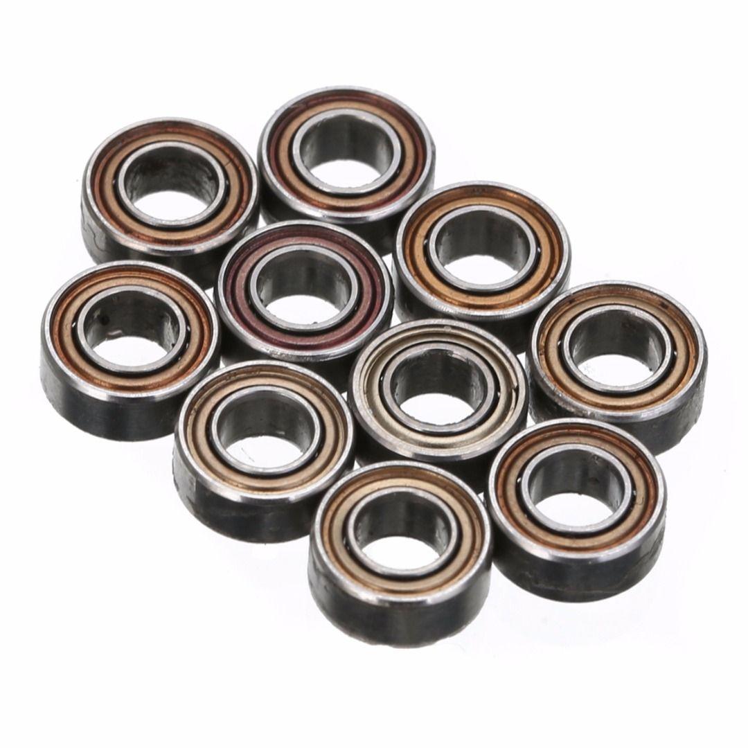 Mayitr Mini Rollenlager 10 teile/satz rillenkugellager MR63ZZ Kugellager Kleine Tragen Marke Neue Kugellager 3mm * 6mm * 2,5mm