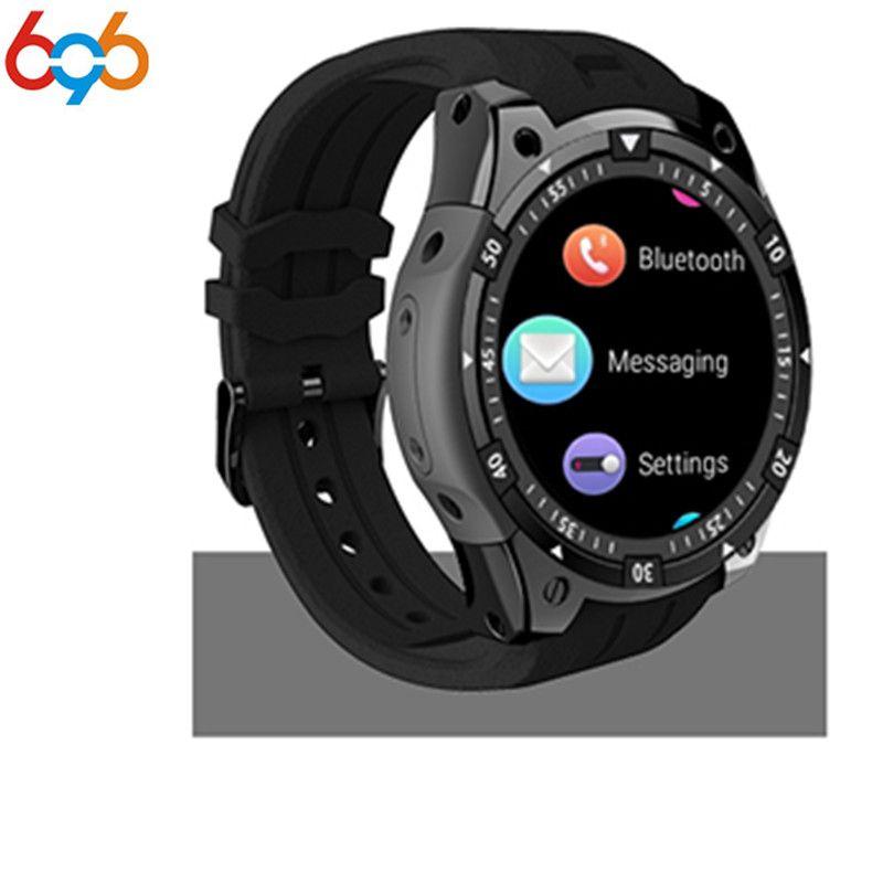 696X100 Bluetooth Smart Uhr herzfrequenz Musik-player Facebook Whatsapp Sync SMS Smartwatch wifi 3G Für GPS Uhr Für IOS PK Q1