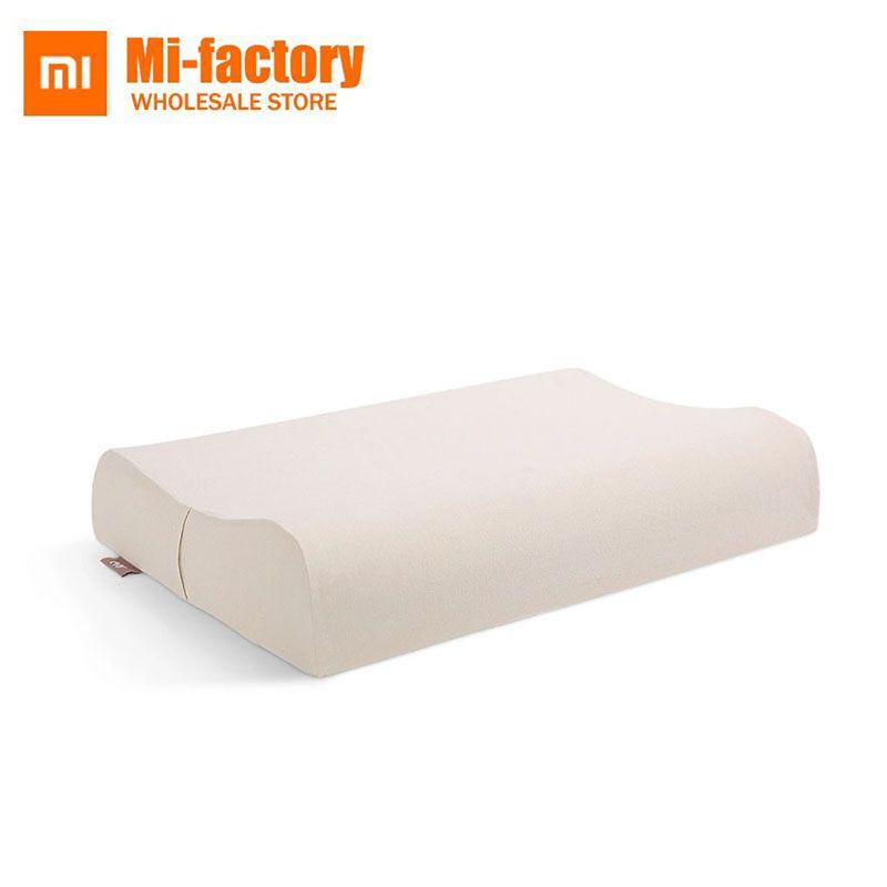 Neue Xiaomi 8 H Kissen Z2 Naturlatex Elastische Weiches Kissen Nackenschutz Kissen beste umweltfreundlich material guten schlaf