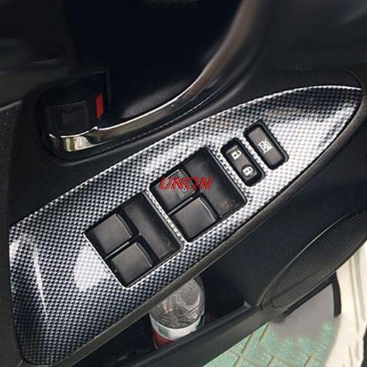 Fit Für Toyota RAV4 2009-2013 Innen Tür Fensterheber Schalter Panel Abdeckung Trim Auto Styling