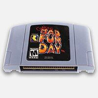 Conker's Bad Fur Day English Language for 64 bit USA/EU Version Video Game Cartridge Console