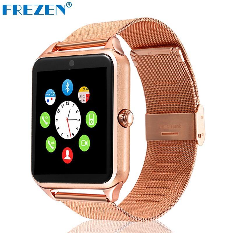 Frezen Смарт-часы gt08 часы с слот sim-карты нажмите сообщение Bluetooth Подключение телефона Android SmartWatch gt08 PK dz09 u8 v8