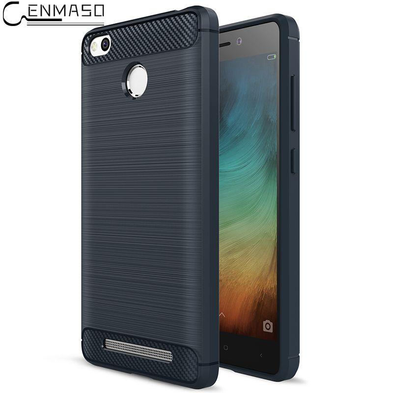 CENMASO For Xiaomi Redmi 3s 3 Case 5.0