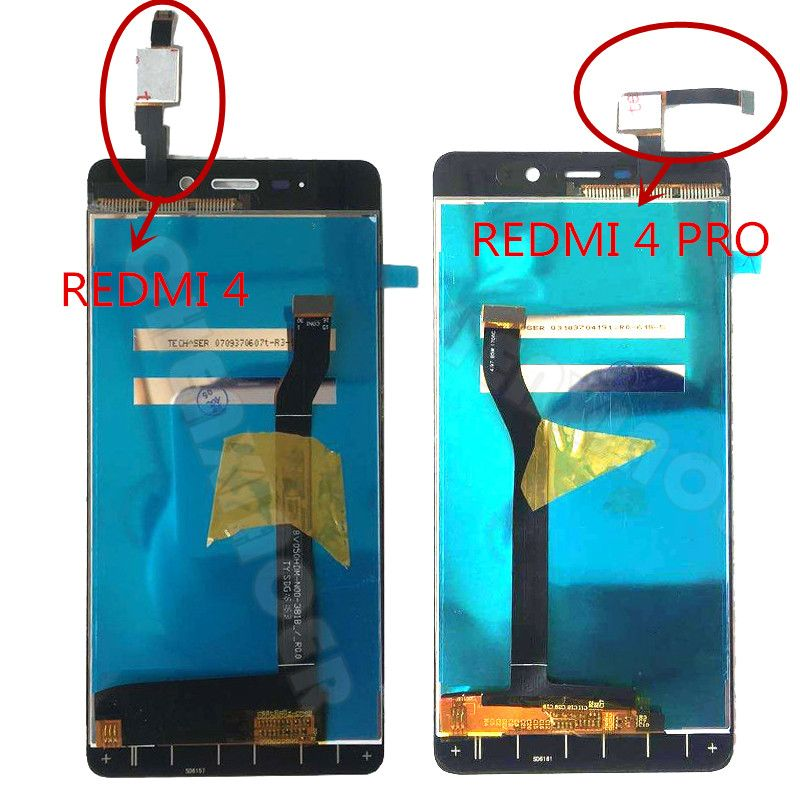 Black/White/Gold For Xiaomi Redmi 4 / Xiaomi Redmi 4 Pro Prime LCD DIsplay + Touch Screen Digitizer Assembly