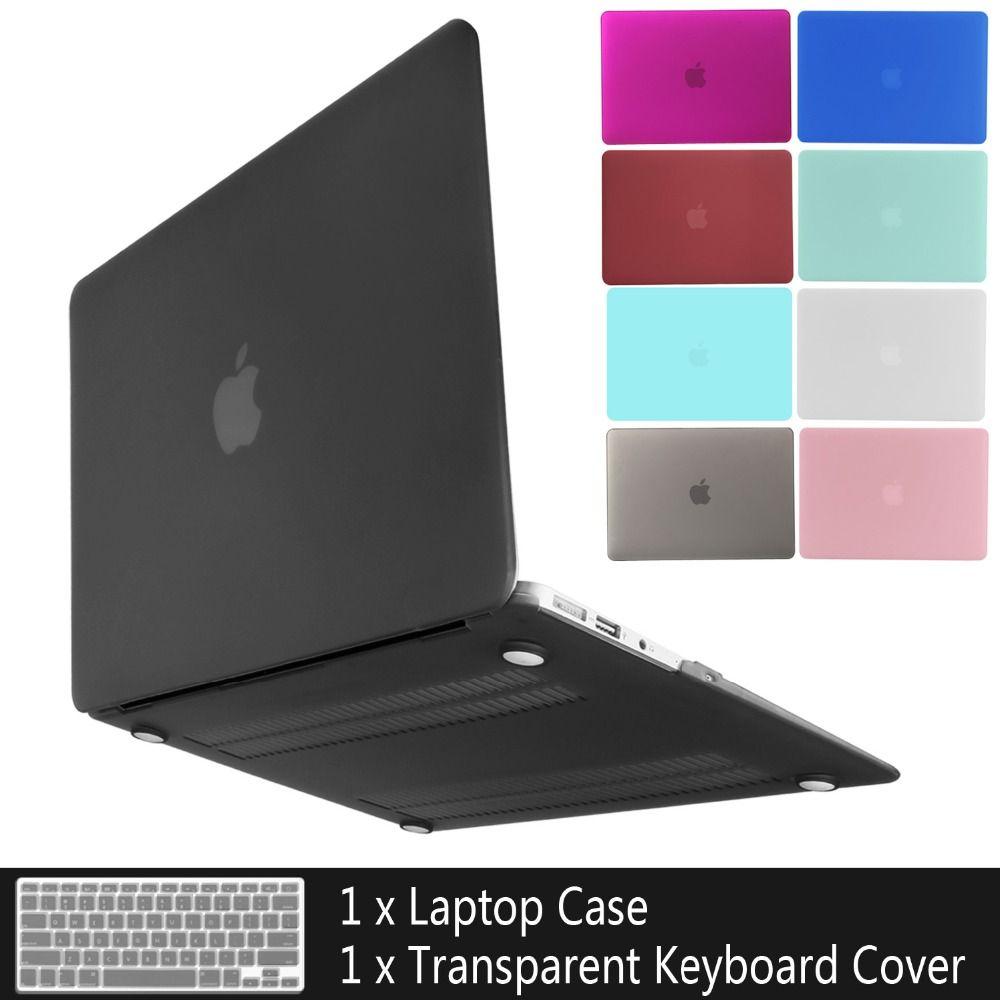 Nouvel étui pour ordinateur portable pour APPle MacBook Air Pro Retina 11 12 13 15 mac Book 15.4 13.3 pouces avec coque de manchon de barre tactile + housse de clavier