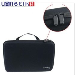 LANBEIKA For GOPRO Large Nylon Portable Storage Collection Bag Case Box for GoPro Hero 5 4 3+ SJCAM SJ5000 M20 SJ6 SJ7 EKEN