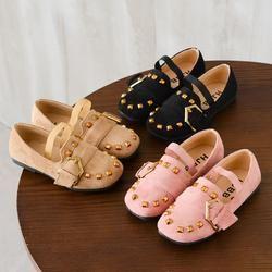 TELOTUNY niño niños niñas bebé moda baile princesa solos zapatos de cuero para niñas zapatos JA10