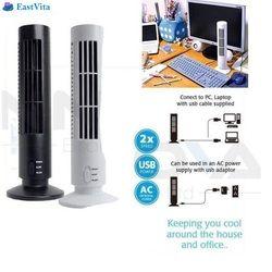 Timur Vita Dijual Dropshipping Portable USB Vertikal Bladeless Fan, mini Udara Kondisi Fan Meja Tower Kipas Pendingin untuk Rumah R30