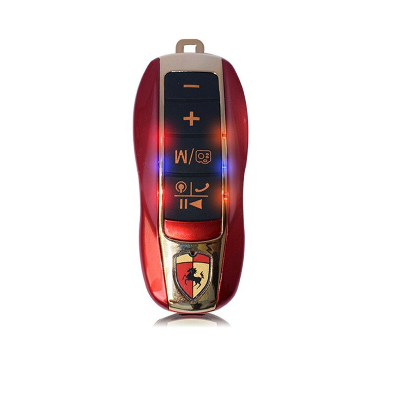 ZK20 B12 Bluetooth speaker support calls hands-free phone anti-lost self-timer function Mini car model card speakers