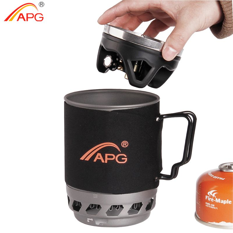 APG tragbare camping gasbrenner system und camping flueless gasherd kochen System