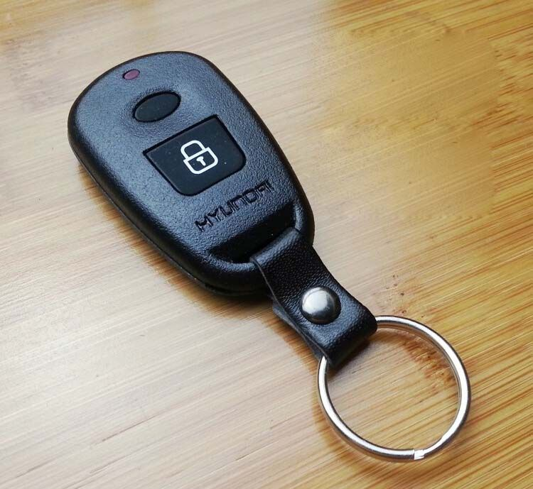 1 Button Remote Control Key Shell For Hyundai Old Elantra Before Year 2003,Santa Fe,Eagle Terracan With battery Location