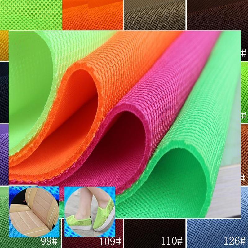 YACK 3D воздуха Spacer сэндвич сетки PET Hygrolon Тяжелых Сиденья мягкие толстые дышащая спортивная одежда 155 см шириной 230 г/M2 3 мм