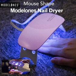 Modelones SUNmini 6 w UV LED Lampe Nail Sèche Portable USB Câble pour Premier Cadeau Usage Domestique Gel Vernis À Ongles Sèche-Mini USB lampe
