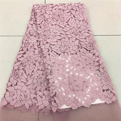 Tollola Pink Nigerian French Lace Fabrics 2018 African Tulle Lace Fabric High Quality African Lace Wedding Fabric For Dress