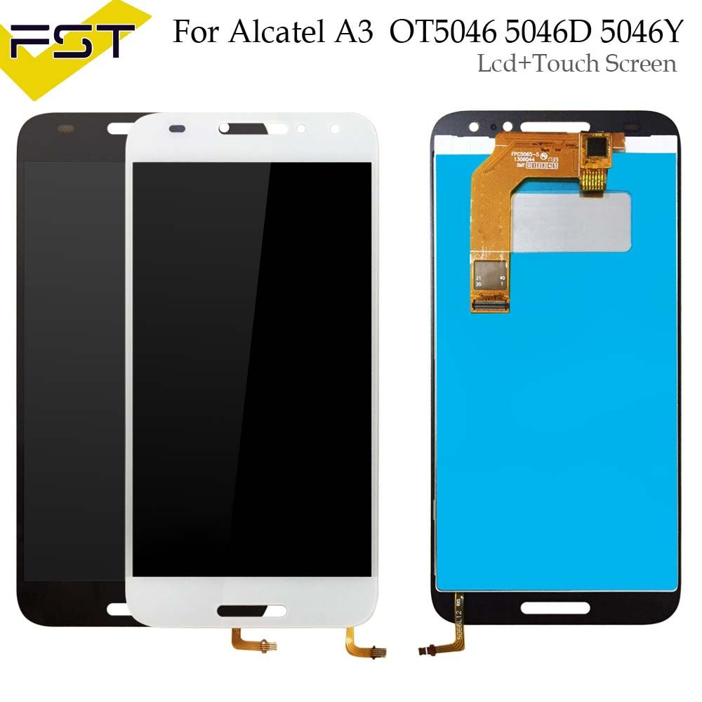 For Alcatel A3 LCD Display and Touch Screen 5