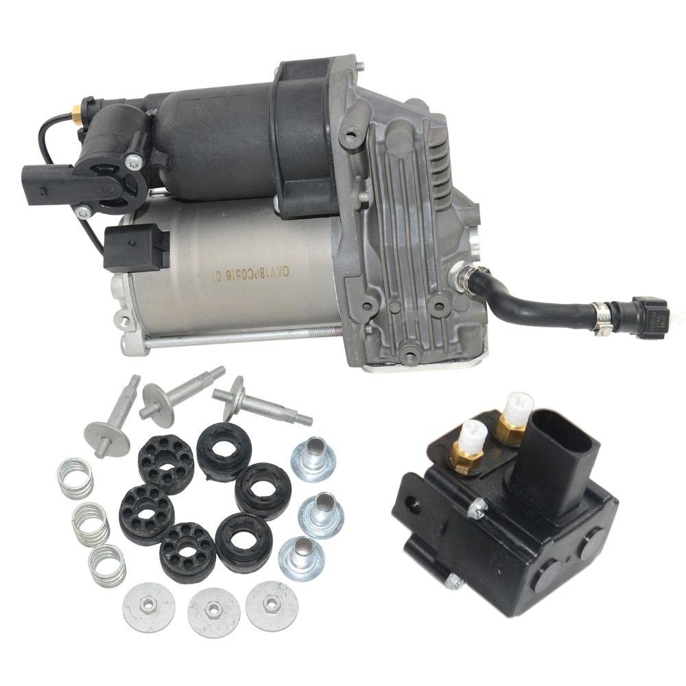 Air Suspension Compressor Pump / Valve For BMW E70 E71 E72 OE# 37226775479