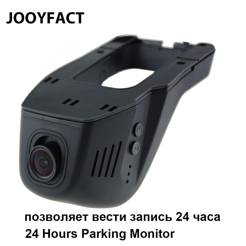 JOOYFACT A1T Car DVR DVRs Registrator Dash Camera Cam Camcorder 1080P Night Vision 24 Hours Parking Monitor 96658 IMX323 WiFi