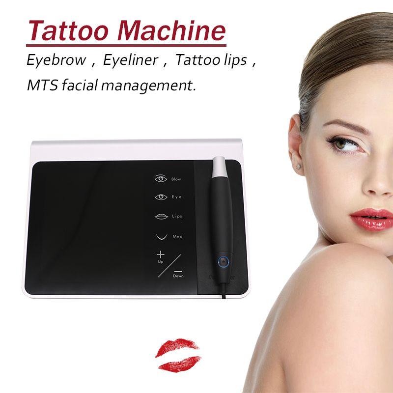 2018 neue dermographe maquillage V7 permanent make-up digital tattoo maschine tattoo anzug tattoo nadel stift tattoo gun MTS Liberty