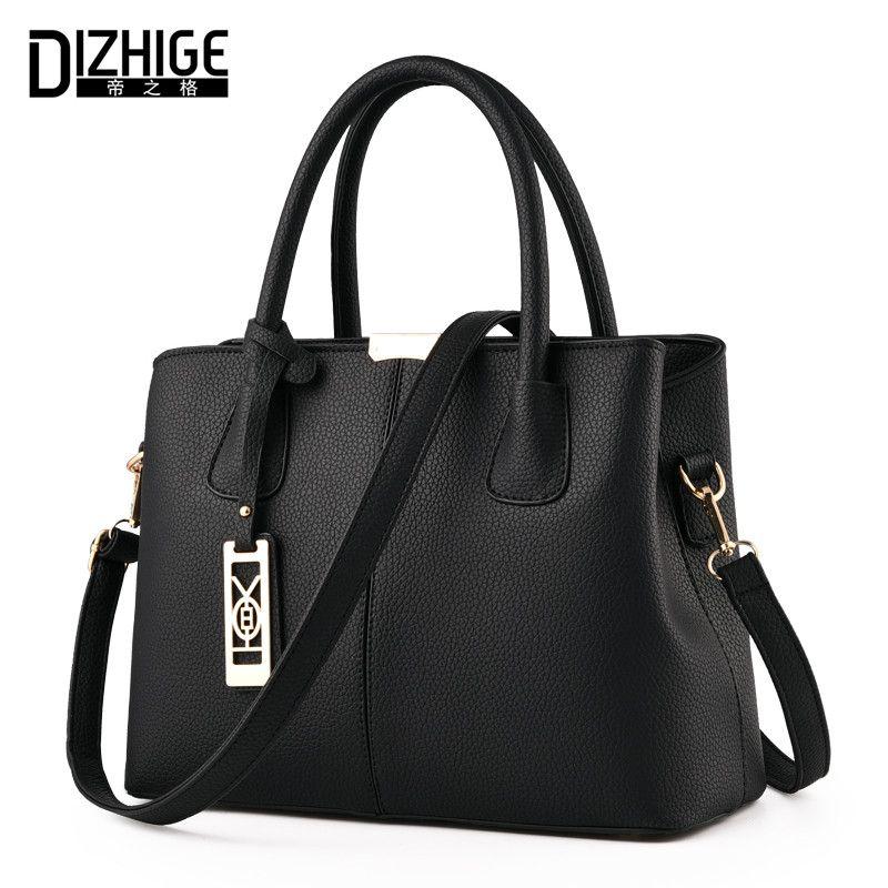 DIZHIGE Brand New Tote Bag Handbags Women <font><b>Famous</b></font> Designer Crossbody Bag Women Leather Handbag High Quality Sac A Main Femme 2017