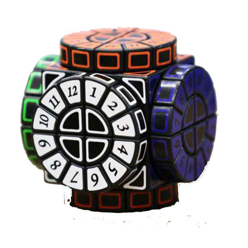 Seltsame Sharp Magic Speed Cube TimeMachine Bildungs Lernen Herausforderung Puzzle Cube Für Kinder Kinder Wettbewerb Magico Cubo
