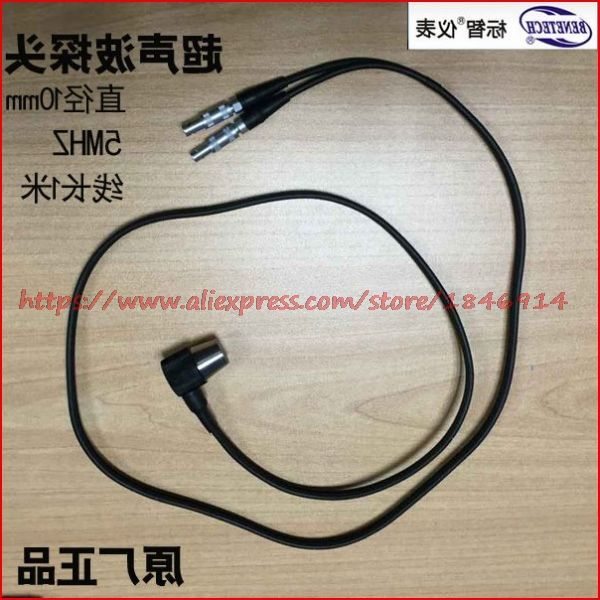 5MHz ultrasonic thickness measuring instrument probe Ultrasonic sensor probe GM100 thickness measuring instrument probe