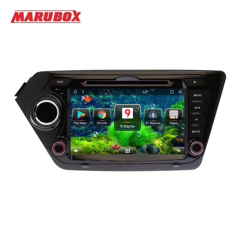 Marubox Neue Doppel Din Android 7.1.2 Für Kia Rio K2 2010-2015 8 Multimedia Auto Radio DVD Player GPS navigation System 8A200MT8