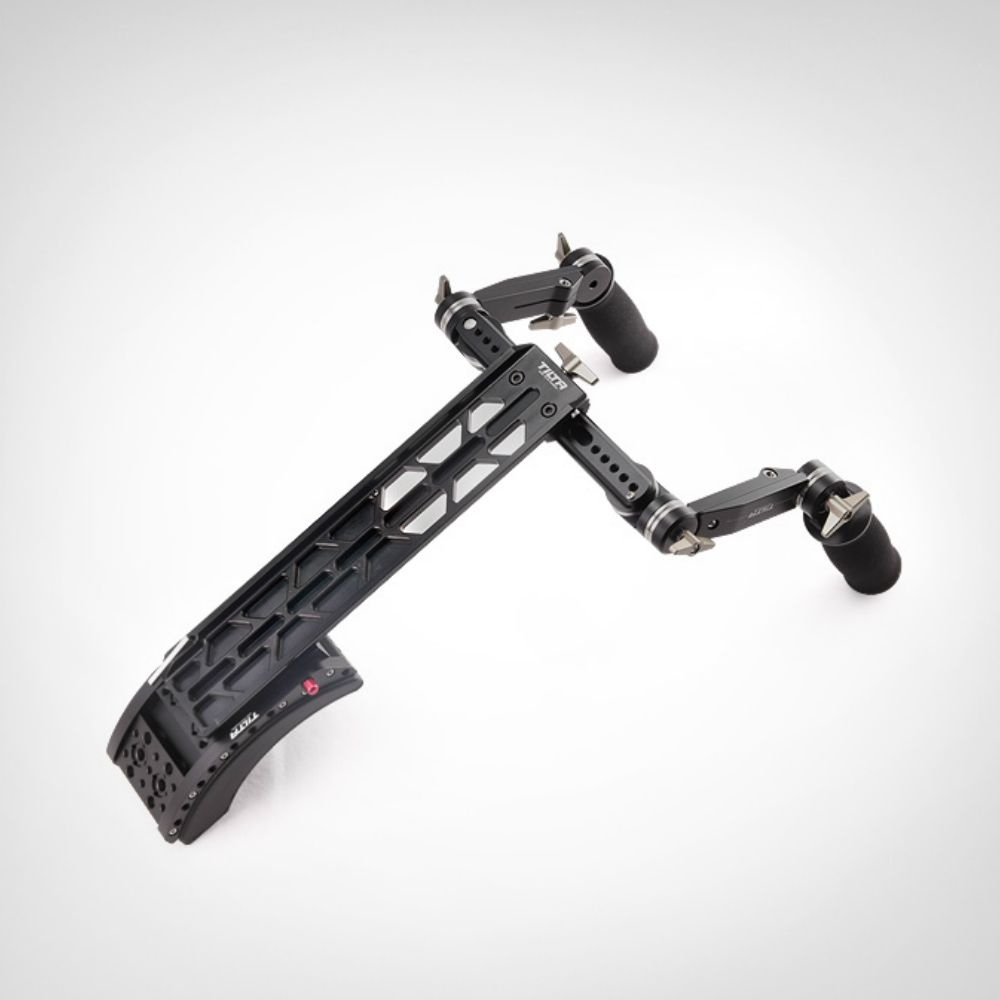 TiltaTT-0506 15mm/19mm schulter mount system mit front handgriff griff kit für Scarlet/RED ONE MX /AlEXA MINI kamera rig