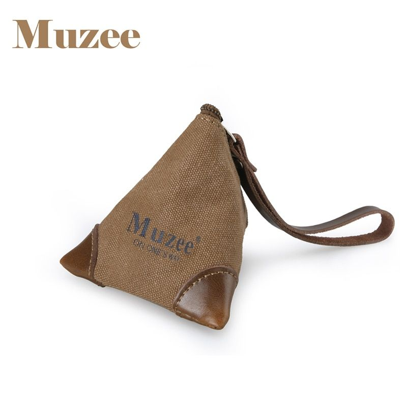 Muzee Canvas Coin Bag suit for Keys and Coin Cute Coin bag for Teenagers Male&Female Gift Bag