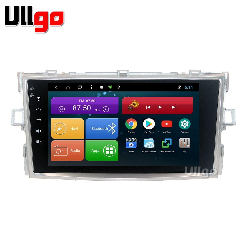 Android 8.1 Auto Head Unit für Toyota Verso Autoradio GPS 1 din Auto Radio GPS Zentralen Multimedia in Dash GPS mit BT Wifi RDS