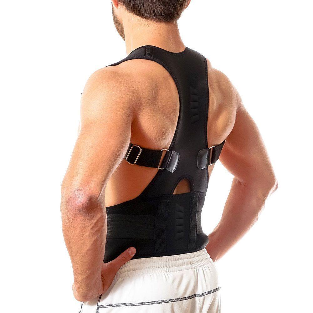 Réglable aimant Posture correcteur dos Corset ceinture lisseur orthèse épaule correcteur De Postura bretelles Supports
