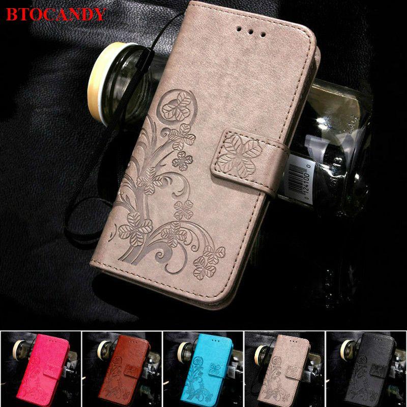 Leather Flip Case For Xiaomi Redmi 6A 5 Plus 3S 4A 4X Mi A1 A2 Lite 8 F1 Note 5 5A Prime S2 3 4 6 Pro Redmi 6A 5 Plus Phone Case