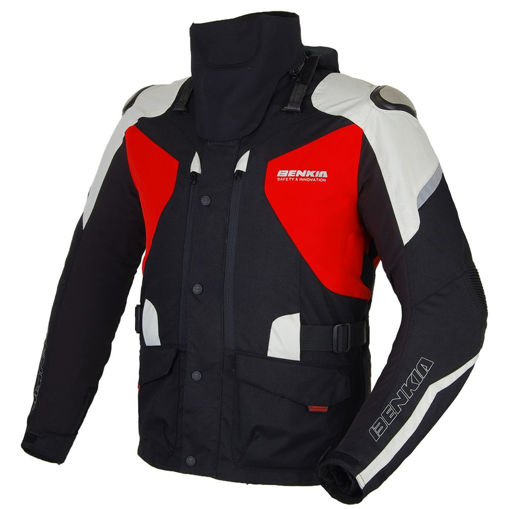 BENKIA Winter Motorcycle Jacket Warm Lining Motorbike Racing Jacket Moto Motocross Protective Gear With Detachable Liner